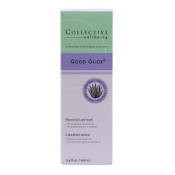 Collective wellbeing good glide aloe vera personal lubricant - 3.4 oz