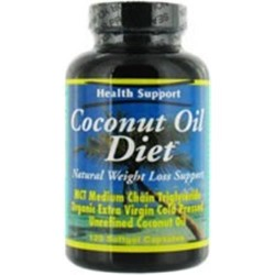 Health support coconut oil diet softgel - 120 ea