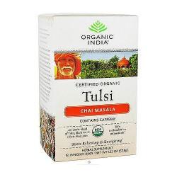 Organic India tulsi tea bag, Chai Masala - 18 ea, 6 pack