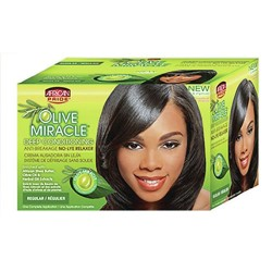 African pride olive miracle no-lye relaxer - 3 ea