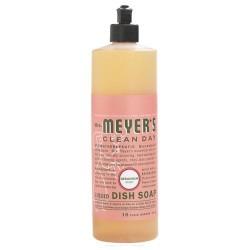 Mrs. Meyers clean day liquid dish soap, geranium  -  16 Oz