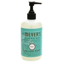 Mrs. Meyers clean day liquid hand soap basil- 12.5 oz