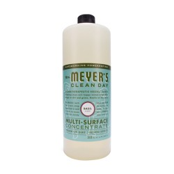 Mrs Meyers Clean Day Multi-Surface Concentrated Cleaner, Basil - 32 oz