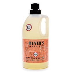 Mrs. Meyers clean day laundry detergent concentrated, geranium  -  64 Oz