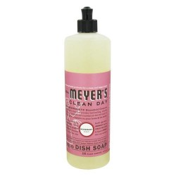 Mrs. Meyers Clean Day Rosemary Liquid Dish Soap - 16 Oz, 6pack