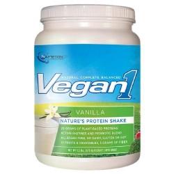 Nutrition 53 - Vegan1 Protein Shake Vanilla - 1.5 lbs.