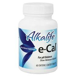 Alkalife e-Cal Tablets - 60 ea