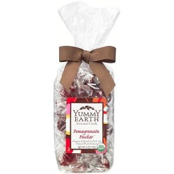 Yummy earth - organic artisanal candy gluten free pomegranate pucker - 6 oz