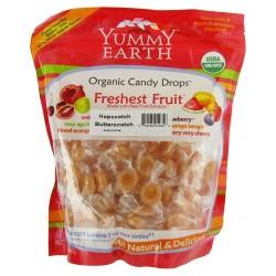 Yummy earth organic candy drops, hopscotch butterscotch - 13 oz pouches