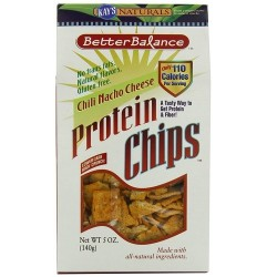 Kays Naturals Better Balance Protein Chips Chili Nacho Cheese - 5 oz ,6 pack
