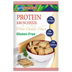Kays naturals protein kruncheeze, white cheddar cheese - 1.2 oz, 6 pack
