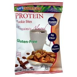 Kays naturals protein cookie bites, cinnamon almond - 1.2oz, 6 pack