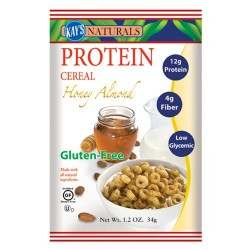 Kays naturals protein cereal, honey almond - 1.2 oz, 6 pack