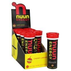 Nuun energy vitamin b & caffeine enhanced drink tabscherry limeade- 10 tablets