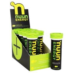 Nuun Energy Vitamin B and Caffeine, Lemon Lime - 10 tablets