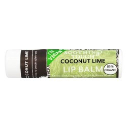 Soothing touch lip balm coconut lime - 12 pack, 0.25 Oz, 12 pack