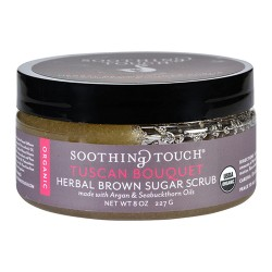 Soothing touch scrub organic sugar tuscan bouquet - 8 oz