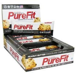 Purefit - all-natural nutrition bar peanut butter chocolate chip - 2 oz