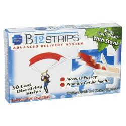 Essential source b12 strips 1000 mcg advanced delivery system, minty fresh breath - 30 strips