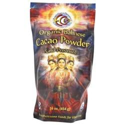 Earth circle organics - organic 100% raw balinese cacao powder - 16 oz
