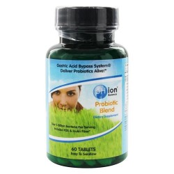 Phion balance probiotic blend with fos & inulin fiber - 60 tablets