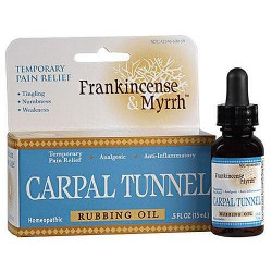 Frankincense and Myrrh Carpal Tunnel Rubbing Oil - 5 oz