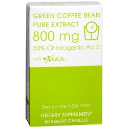 Creative bioscience green coffee bean pure extract 800 mg veg capsules - 60 ea