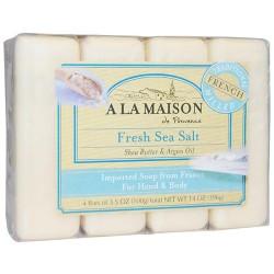 A La Maison de provence fresh sea salt 4 bars - 3.5 oz