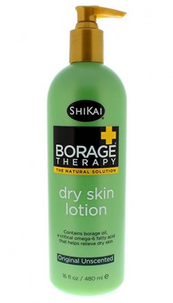 Shikai borage therapy dry skin lotion original unscented - 16 fl oz