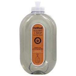 Method hard floor cleaner squirt + mop ginger yuzu - 25 oz.