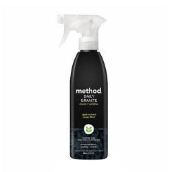 Method daily granite clean and polish spray, Apple orchard - 12 oz , 6pack