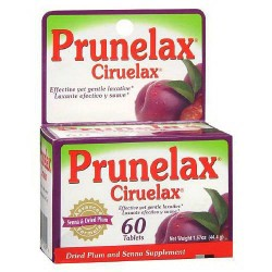 Prunelax ciruelax effective natural gentle laxative tablets - 60 ea