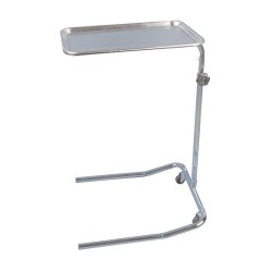 Drive medical mayo instrument stand, single post - 1 ea