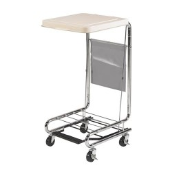Drive medical hamper stand with poly coated steel - 1 ea