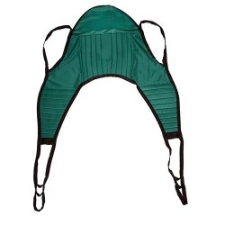 Drive Medical Padded U Sling, with Head Support, Medium - 1 ea
