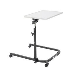 Drive medical pivot and tilt adjustable overbed table - 1 ea