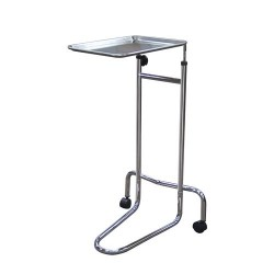 Drive medical mayo instrument stand, double post - 1 ea