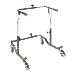 Drive Medical Bariatric Heavy Duty Anterior Safety Roller, 500lbs Weight Capacity - 1 ea