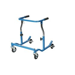 Drive Medical Anterior Rehab Safety Roller, Fixed Width, Pediatric, Blue - 1 ea