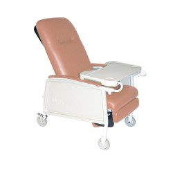 Drive Medical 3 Position Geri Chair Recliner, Rosewood - 1 ea