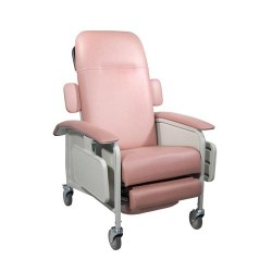 Drive Medical Clinical Care Geri Chair Recliner, Rosewood - 1 ea