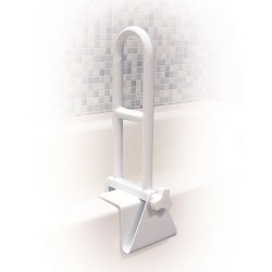 Drive Medical Bathtub Shower Grab Bar Safety Rail, Perpendicular - 1 ea
