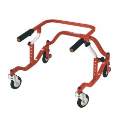 Drive Medical Posterior Safety Roller, Tyke, Red - 1 ea