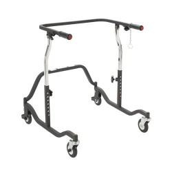 Drive Medical Posterior Safety Roller, Adult, Black - 1 ea