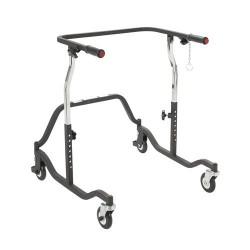 Drive Medical Posterior Safety Roller, Adult, Black - 1 ea