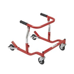 Drive Medical Anterior Rehab Safety Roller, Fixed Width, Tyke, Red - 1 ea