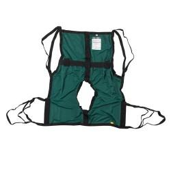 Drive Medical One Piece Sling with Positioning Strap, with Commode Cutout, Small - 1 ea