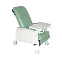 Drive Medical 3 Position Heavy Duty Bariatric Geri Chair Recliner, Jade - 1 ea