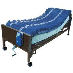 Drive Medical Med Aire Low Air Loss Mattress Overlay System, with APP, 5 inches - 1 ea