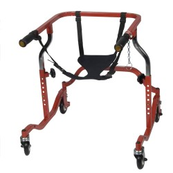 Drive Medical Seat Harness for all Wenzelite Anterior and Posterior Safety Rollers and Nimbo Walkers, Large - 1 ea